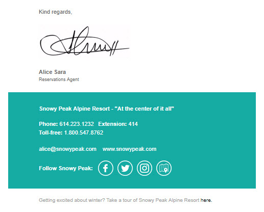 Alice Sara's Handwritten Signature Design
