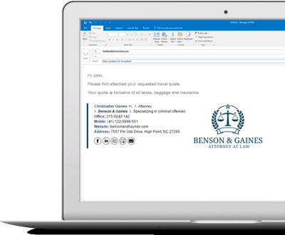 email signatures for attorneys