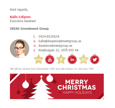 Christmas email signature template email signature rescue bizedge christmas email signature template maxwellsz