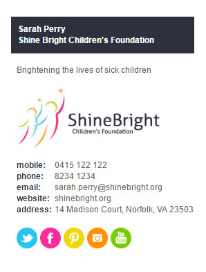 Signature Charity Colorbarvertical