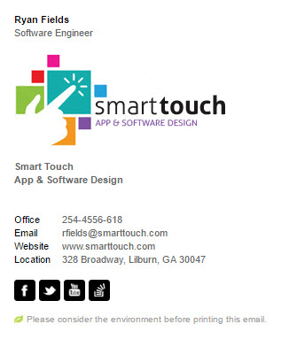 Signature Software Engineer Divparty