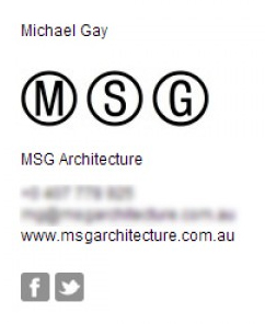 Michael Gay Email Signature Example