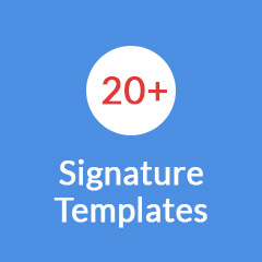 choose email signature template