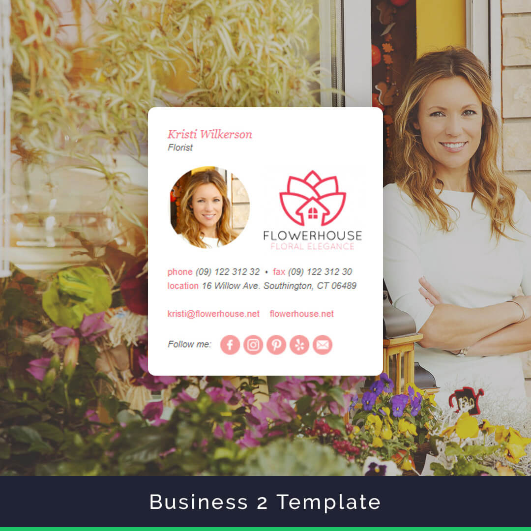 The Business Email Signature Template