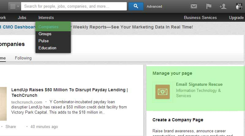 How to add linkedin icon to outlook email signature