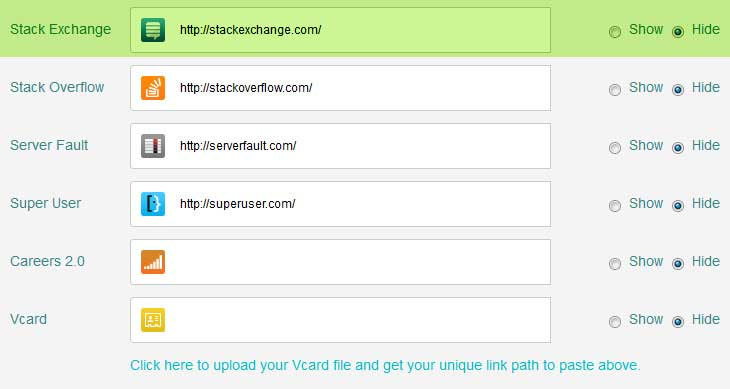 stack exchange link undefined in html signature