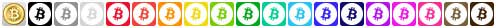 bitcoin social icons full set