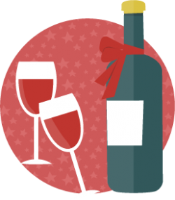 Champagne Christmas Icon 2014