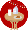 Milk Biscuits Christmas Icon 2014