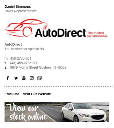 Autodirect - View stock online