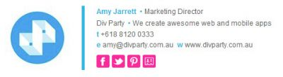 the professional divparty example